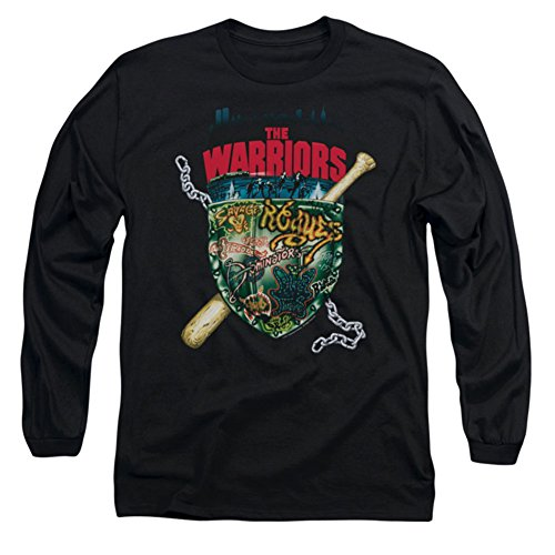 Long Sleeve The Warriors Shield Longsleeve Shirt Size L