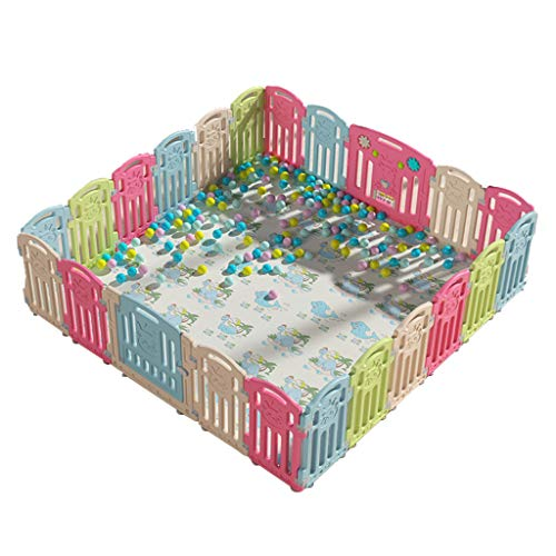 Affordable Large Baby Safety Activity Center - Play Yards Playpen for Kids Portable Indoor Outdoor w...