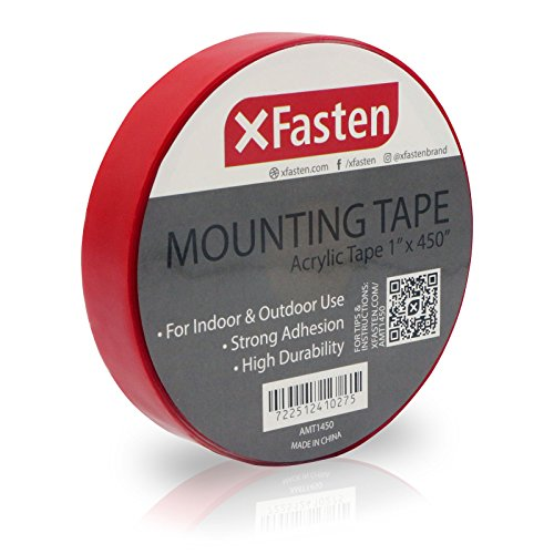 XFasten Double Sided Adhesive for Brick, Walls Acrylic Mounting Tape