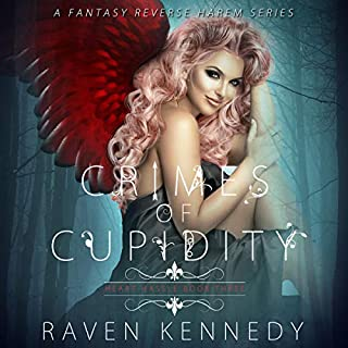 Crimes of Cupidity     A Fantasy Reverse Harem Story: Heart Hassle, Book 3              Written by:                                                                                                                                 Raven Kennedy                               Narrated by:                                                                                                                                 Melissa Schwairy,                                                                                        Aaron Shedlock                      Length: 9 hrs and 57 mins     3 ratings     Overall 5.0