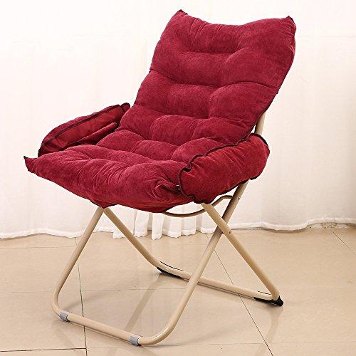 Chaises longues-Chaises longues-- Creative Folding Canapé d'ordinateur amovible Chaise Lazy Sofa Single Living Room Dorm Président Lazy Sofa (Une variété de couleurs en option) --Applicable à l'intérieur et à l'extérieur ( Couleur : #2 )