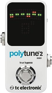 TC Electronic 966121001 Polytune Mini 2 Guitar Pedal Tuner