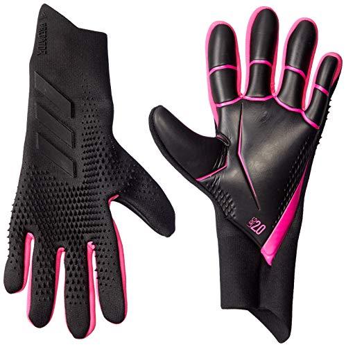 adidas Herren Pred Pro Handschuhe, Black/Black/Shopnk, 10