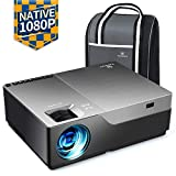"VANKYO Performance V600 Native 1080P LED Projector, 6800 Lumens HDMI Projector with 300""Display"