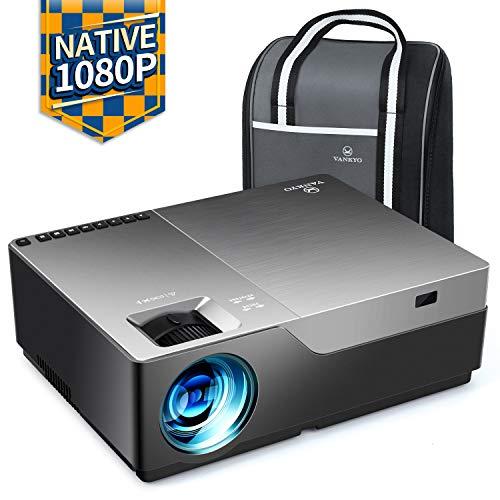 VANKYO Performance V600 Beamer, 6500 Lumen Full HD Beamer, Native 1080P Beamer Heimkino mit 300
