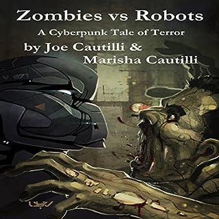 Zombies vs Robots audiobook cover art