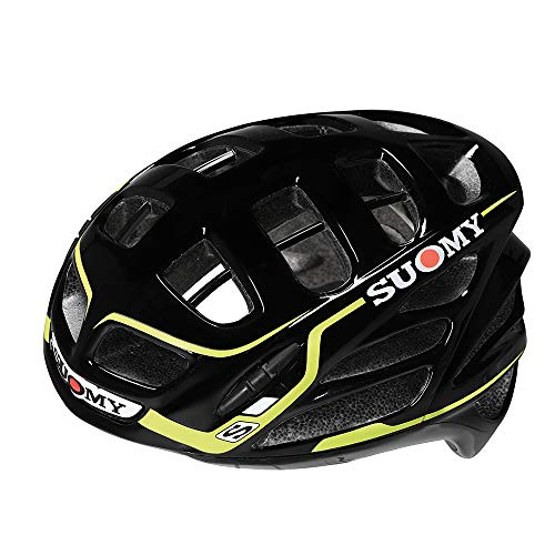 Suomy Motorradhelm SR Sport Shape, Schwarz/GIALLO, M