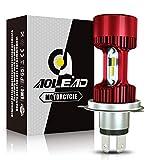 Aolead H4 LED Lampadina per Moto, 6400LM Lampada Abbaglianti e Anabbaglianti, DC 12V 6000K -1 Lampada