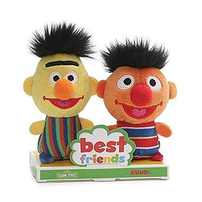 """GUND - Sesame Street Best Friends Forever, BFF Sets, 4"""""""