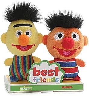 Gund Sesame Street Bert and Ernie BFF Set, 4
