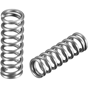 OD 0.68 inches Cable diameter 0.06 inches Free length 11.81 inches Stainless steel coil Extended compressed spring