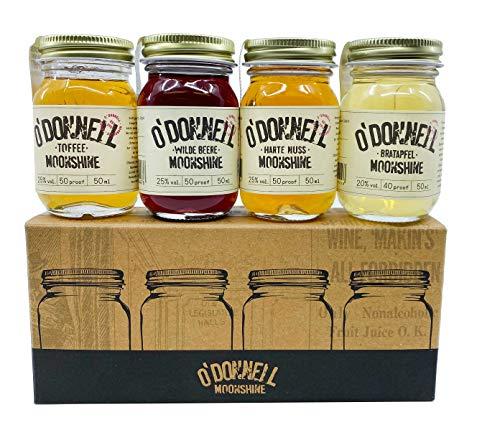 O'Donnell Moonshine WINTER MINIS 23,8% Volume 4x0,05l in Geschenkbox