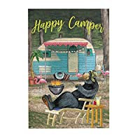 300ピース ジグソーパズル Happy Camper Bear ハッピーキャンパーベア 木製 DIY 大人 子供向け ブレインティーザー ゲーム 動物 風景 壁飾り 装飾画 人気 入園祝い 新年 ギフト 誕生日 クリスマス プレゼント 贈り物