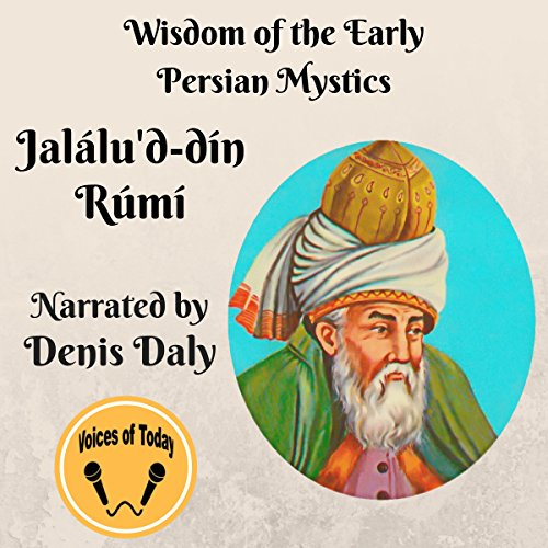 Jalálu'd-Din-Rúmi audiobook cover art