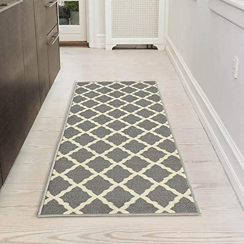 Silk Road Concepts Collection Contemporary Rugs 20 x 59 Gray product image