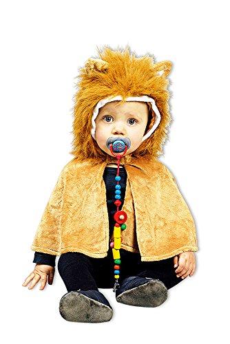 Löwen Cape Baby - Kostüm für Kleinkinder - Gr. 98