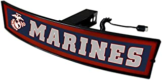 SLS US Marines Light Up Hitch Cover