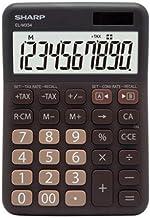 Calculator, 12-Digit Widescreen Display Calculator, Office Business Calculator, Solar Fashion Mini Calculator. (Color : Br...