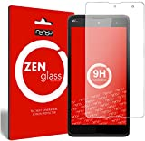 ZenGlass Flexible Glas-Folie kompatibel mit Wiko Robby Panzerfolie I Bildschirm-Schutzfolie 9H