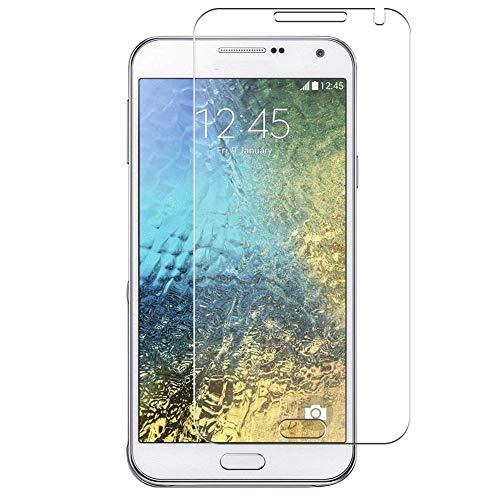 Vaxson 4 Stück Schutzfolie, kompatibel mit Samsung Galaxy E7, Bildschirmschutzfolie TPU Folie [nicht Panzerglas]