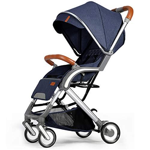 Buggy lichte kinderwagen reisbuggy kinderbuggy met ligfunctie Klein inklapbaar voor kinderen vanaf 6 maanden tot 25 kg, vijfpuntsgordel, uitbreidbare UV-beschermmarkies, ideaal voor vliegtuig