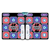 DASNTERED Alfombrilla de baile doble – Alfombrilla de baile USB para juegos de yoga para ordenador...
