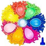 Belmalia 1000 Wasser-Bomben Mega-Pack Neon | Wasser-Ballons + Füllhilfe für den Wasserhahn |...