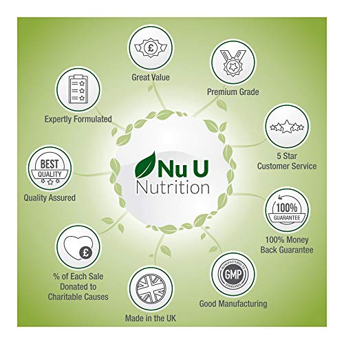 Vitamin C 1000mg 180 Tabletten (6 Monatsversorgung) von Nu U Nutrition - 2
