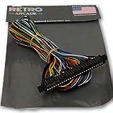 RetroArcade.us Jamma Board Standard Cabinet US Wiring Harness Loom for Jamma 60-in-1 PCB Board