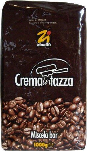 Zicaffè Crema in tazza, Espresso ganze Bohne, 1kg