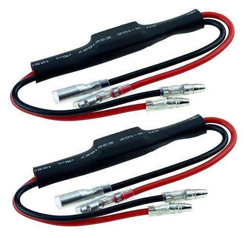 B548-1 2 stycken effektmotstånd lastmotstånd för SMD LED miniblinker mini blinker för rätt blinkfrekvens 5 watt 5 W 29 ohm