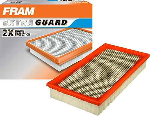 FRAM Extra Guard Air Filter, CA8956 for Select Ford, Jaguar and Lincoln Vehicles