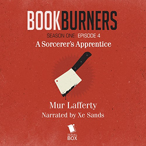 Bookburners audiobook cover art