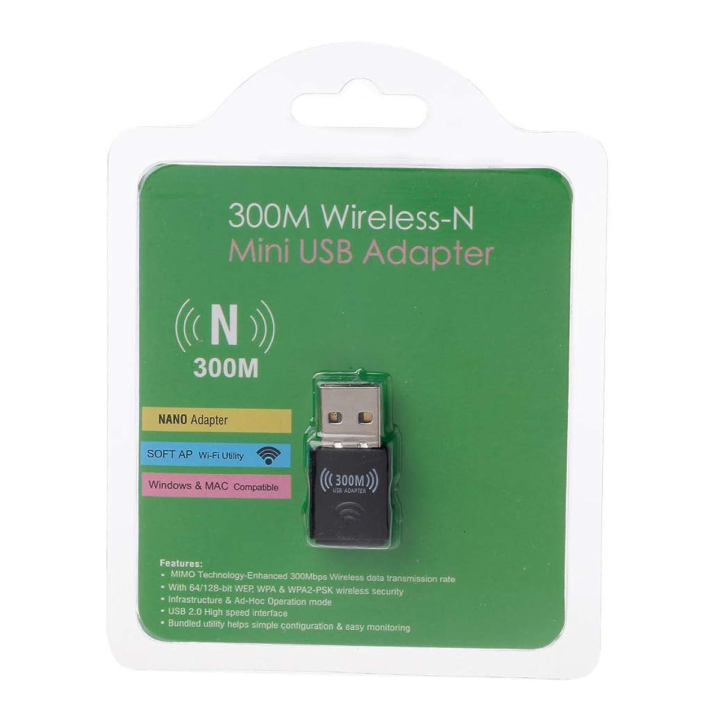 Tebatu WiFi Adapter Wireless Receiver Network Card Antenna 802.11 n/g/b wi fi LAN Adapter for Laptop