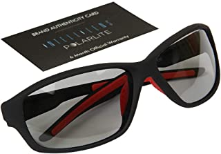Intellilens Polar-lite Polarized with Anti-glare and Photochromic for Eye Protection while Riding/Driving/Travelling Polycarbonate Unisex Sunglasses (203,Red)