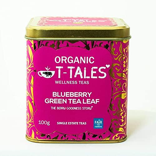 Nuestra mezcla especial de té verde y arándanos ofrece un maravilloso aroma afrutado y un sabor dulce y jugoso que le da a su día un pequeño impulso con la bondad de las bayas. Té verde ecológico 100 gramos de té ecológico a granel Caja metálica con ...