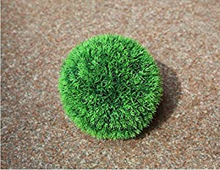 NUTY DESTY Topiary Balls - Decorative Artificial Grass Ball Plastic Leaf Effect Hanging Green Grass Ball Decoration Artificial Topiary Ball in 5 Sizes