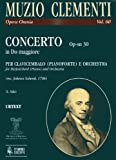 Concerto C-Dur Op Sn 30. Cembalo, Klavier, Orchester - Clementi Muzio