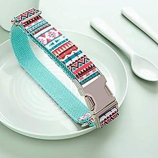 Premium Tiffany Dog Collar for Small Medium Dogs with adjustable strap