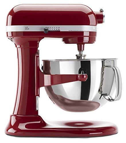 Kitchenaid Professional 600 Stand Mixer 6 quart, Empire Red (Renewed)