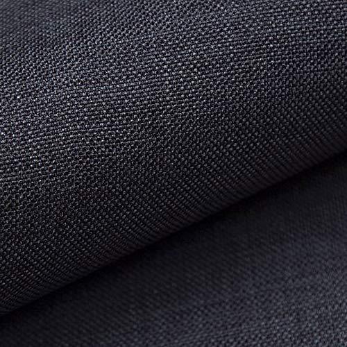 novely® Luso | 1 Lfm | Fine Substance Tissu D'Ameublement Tissu D'Ameublement par Mètre Tissu pour Ameublement - 08 Olive Noire