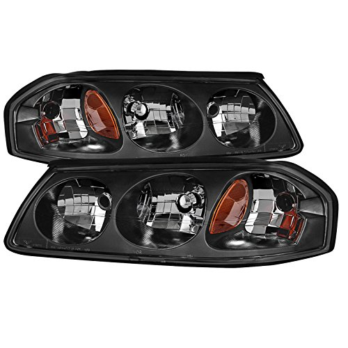 Chevrolet Impala OEM Headlamps Black Housing With Clear Lens