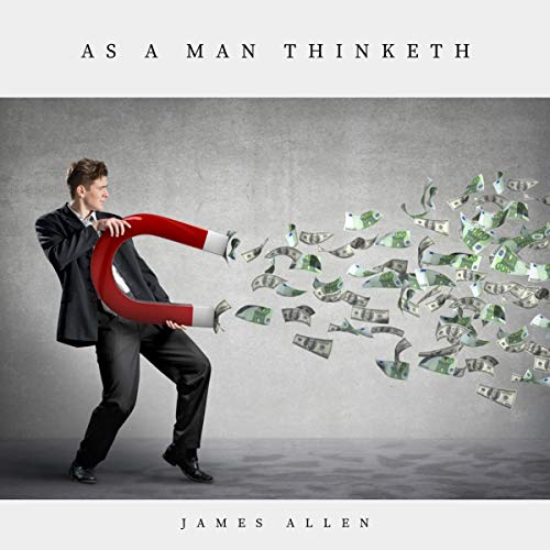 Page de couverture de As a Man Thinketh