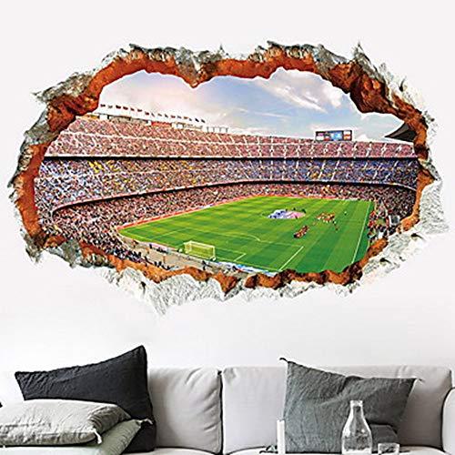 WHFDRHQT Muursticker Decoratieve Muurstickers Vlak Muurstickers Voetbal Binnen Chocolade