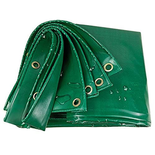 LXLA- Bâche polyvalente, anti-déchirure renforcée imperméable avec œillets, pour écran anti-pluie/solaire/anti-poussière - 450g / m² (taille : 5m x 5m)