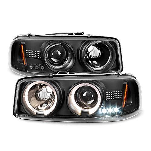 02 gmc sierra headlight assembly - 7