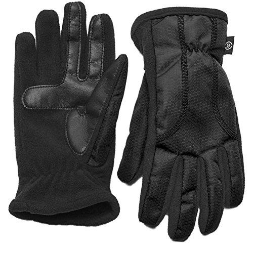 Isotoner Smart Touch Women Black Matrix Tech Glove Smartouch Thermaflex M/L