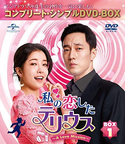 私の恋したテリウス~A Love Mission~ BOX1(コンプリート・シンプルDVD‐BOX5,000円シリーズ)(期間限定生産)