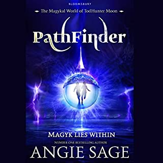 Pathfinder     TodHunter Moon, Book 1              By:                                                                                                                                 Angie Sage                               Narrated by:                                                                                                                                 Nicola Barber                      Length: 9 hrs and 9 mins     38 ratings     Overall 4.6