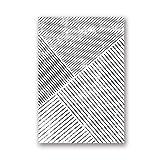 WENYOG Cuadro En Lienzo Minimalista Pintura de Lona geométrica Moderno Abstracto Pósters e Impresiones Arte de la Pared Imagen de Arte para la Sala de Estar Decoración del hogar